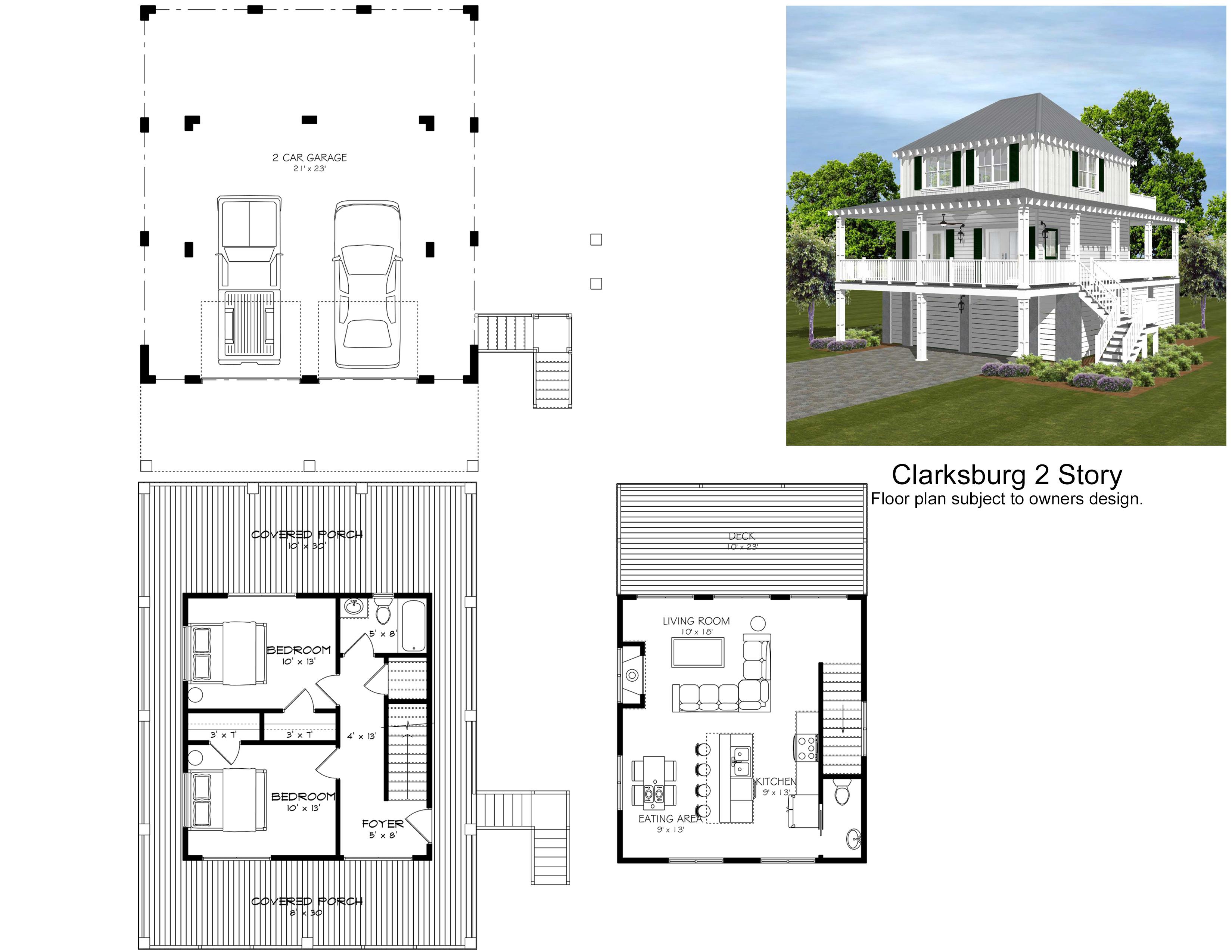 Clarksburg 2 Story