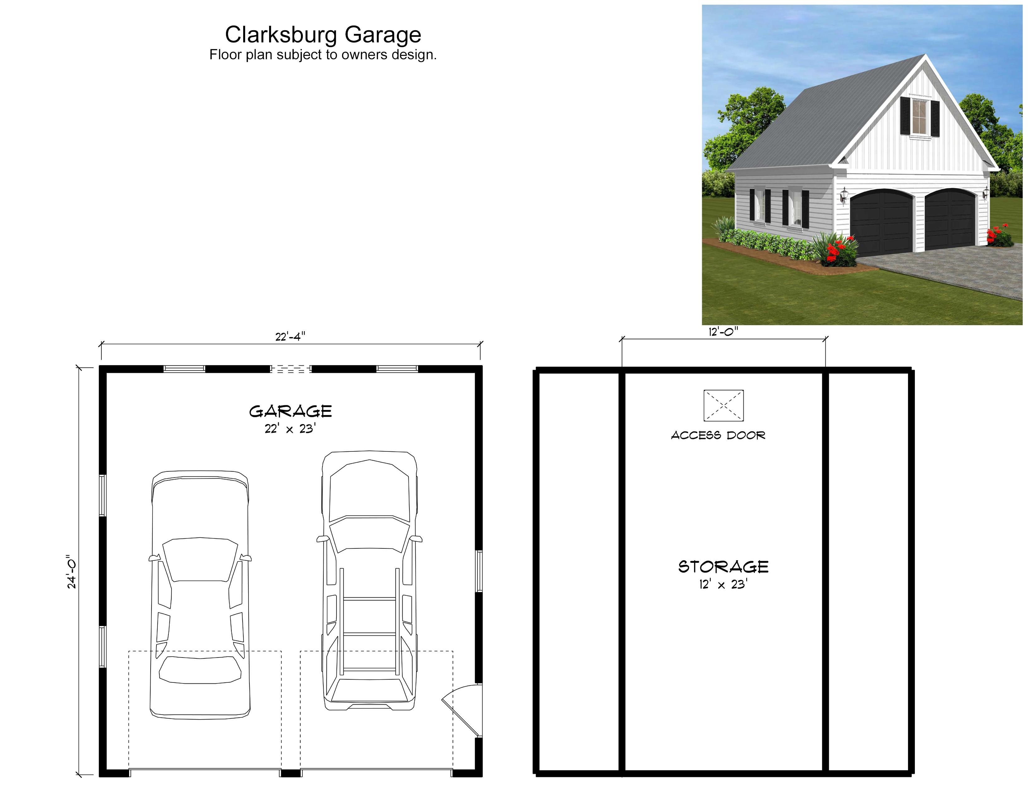 Clarksburg Garage